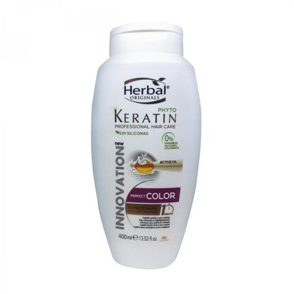 Herbal originals phyto keratin professional hair care perfect color sin silicona champu 400ml