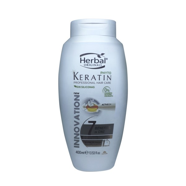 Herbal originals phyto keratin professional hair care 7 benefits in one bb cream antiedad express mascarilla 400ml
