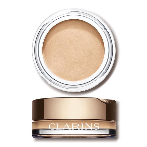 Clarins eyeshadow mono 01 white shadow
