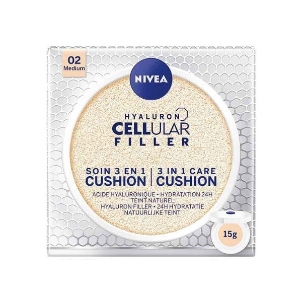 Nivea Hyaluron Cellular Filler 3 en 1 ,  02 Medium