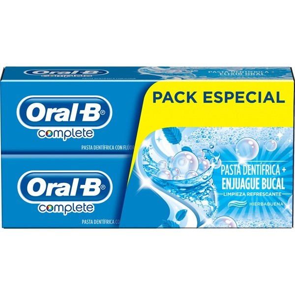 Oral-B Pack Especial Dentífricos 2x75 ml