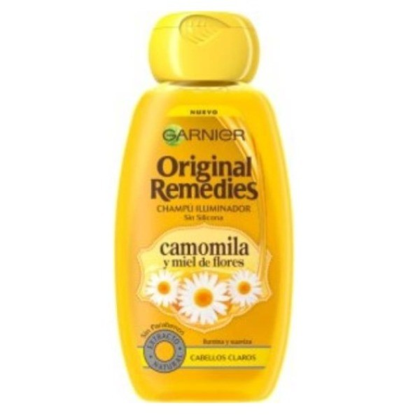 Original Remedies champú Camomila y Miel de Flores 250 ml