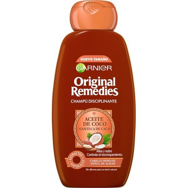 Original Remedies champú Aceite de Coco y Manteca de Cacao 250 ml